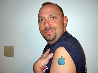 apple tatoo 1