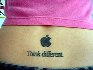 apple tatoo 11
