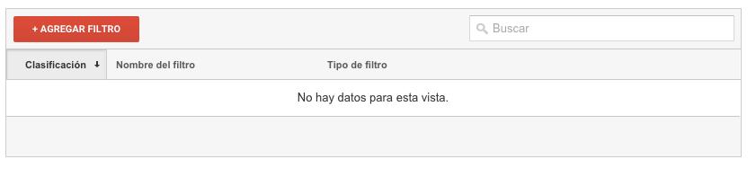 agregar filtro google analytics