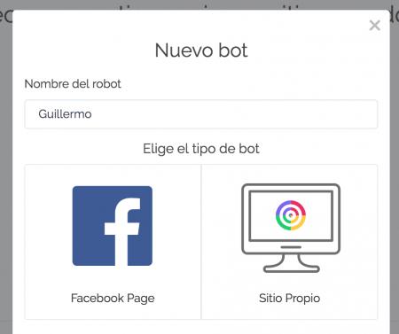 chatbot para facebook