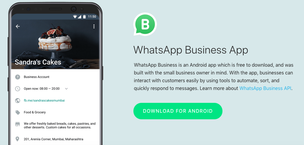 anuncios wahtsapp business